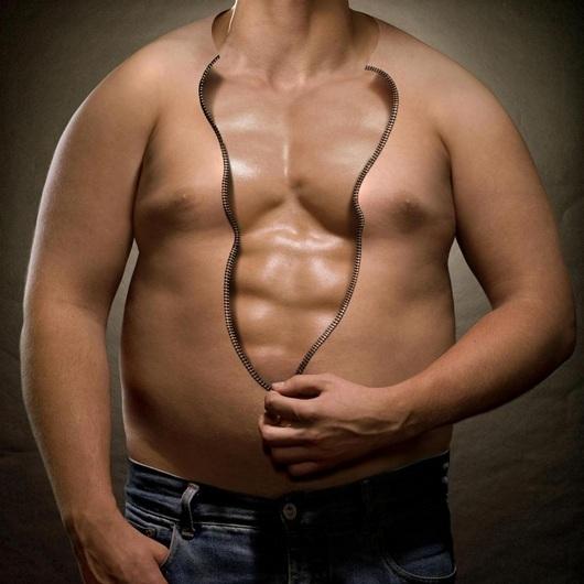 на животе увеличивается жир